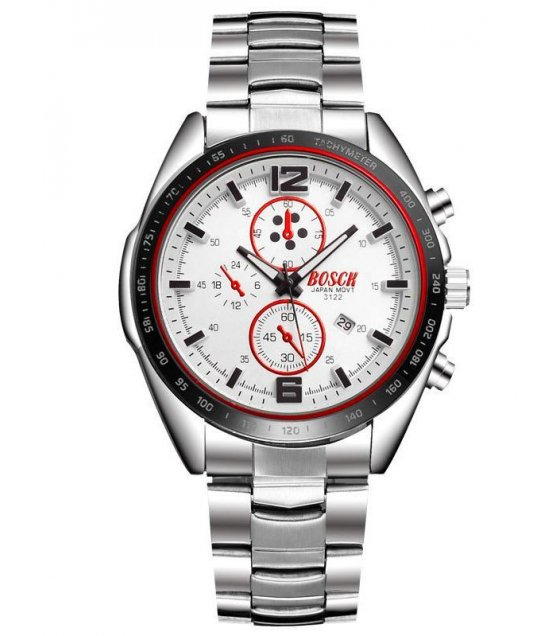 W1433- White Formal BOSCH watch