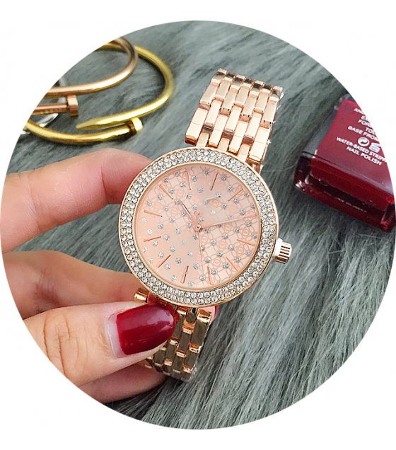 W1512 - Rose Gold Elegant Watch