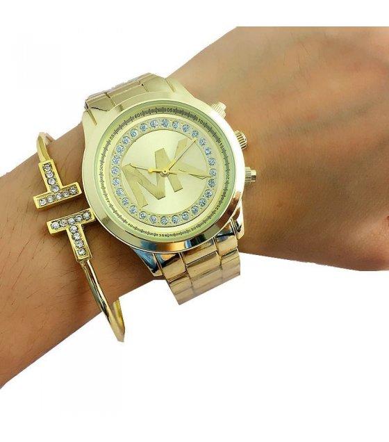 W1537 - Gold MK Watch