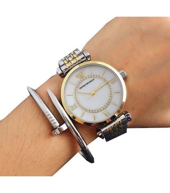 W1549 - Armani Rhinestone Replica Watch