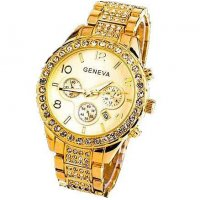 W156 - Elegant Rose Gold Watch
