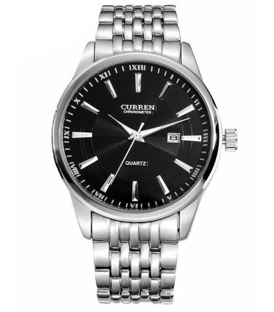 W1593 - Simple Black Curren Watch