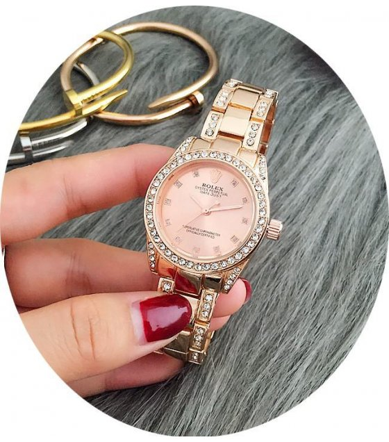 W1595 - Rose Gold Rolex Watch