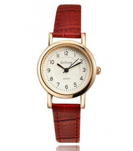 W1604 - Red Strap Watch