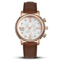 W1605 - Brown Strap Watch