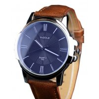 W1614 - Brown Strap Mens Watch