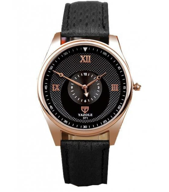 W1618 - Black Strap Mens Watch