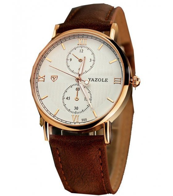 W1620 - Brown Strap Mens Watch
