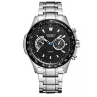 W1635 - Silver Strap Mens Watch