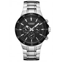 W1637 - Silver Strap Mens Watch