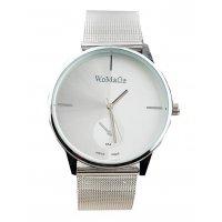 W164 - Simple silver belt Watch