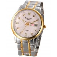 W1644 - Two Toned Mens Watch