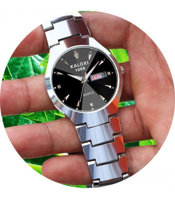 W1648 - Steel black Mens Watch
