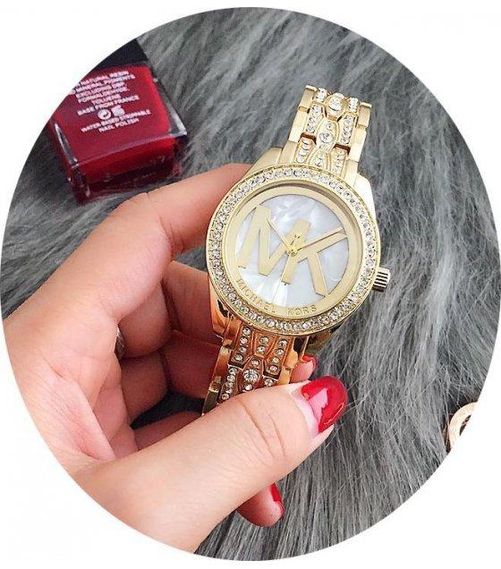 W1683 - Rhinestone MK Watch