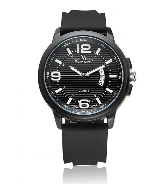 W1722 - Black V6 Mens Watch