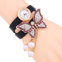 W1739 - Butterfly Pearl Watch