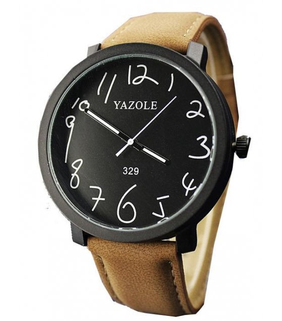 W1742 - Brown Strap Yazole Watch