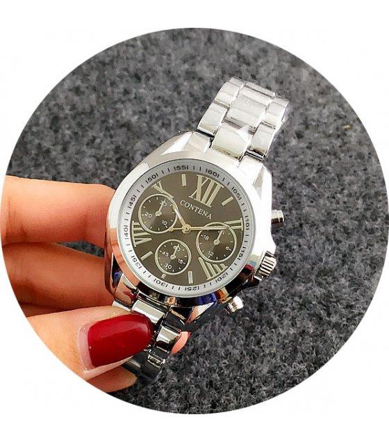 W1770 - Black Dial Contena Watch