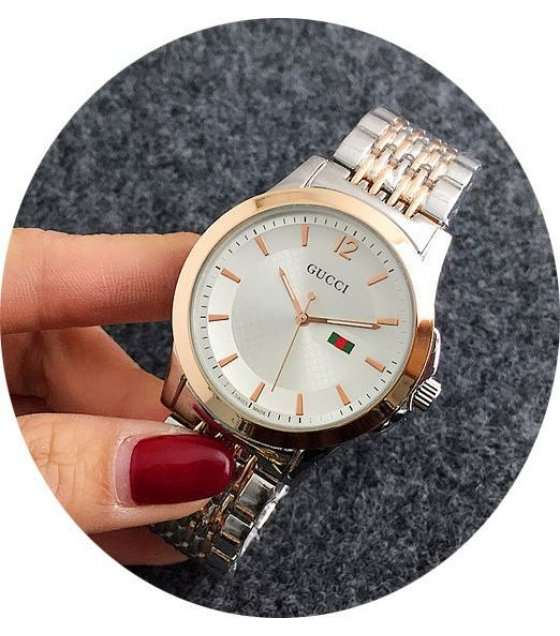 W1771 - Rose Gold Mixed Gucci Watch