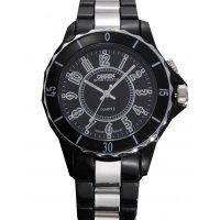 W1831 - Striped Black Men's Watch