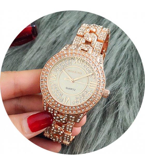 W1840 - MK Rhinestone Rose Gold Watch