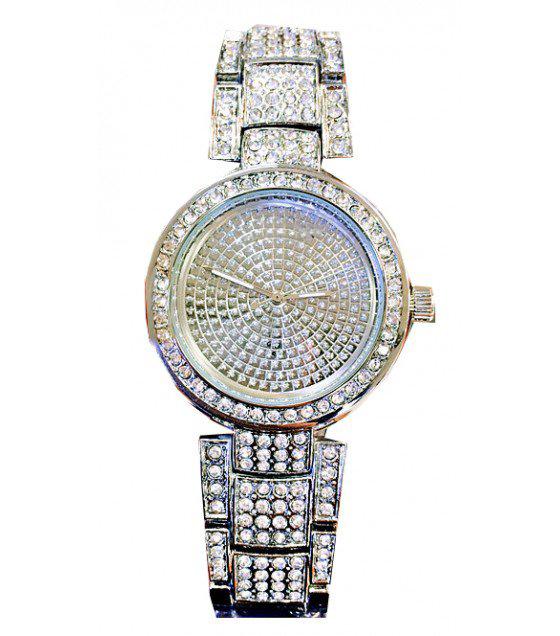 W1872 - Silver Rhinestone Watch