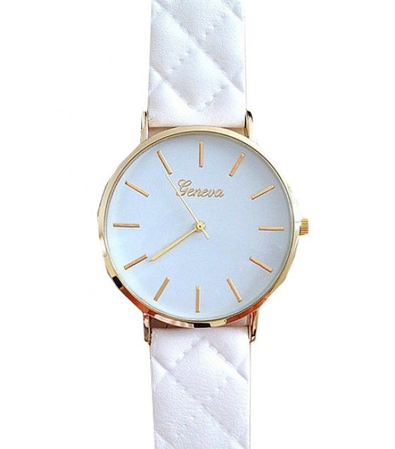 W1888 - Elegant White Women's Watch