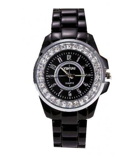 W1891 - Black rhinestone Women's Watch
