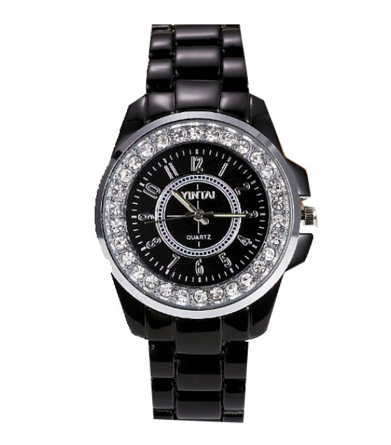 W1891 - Black rhinestone Women's Watch