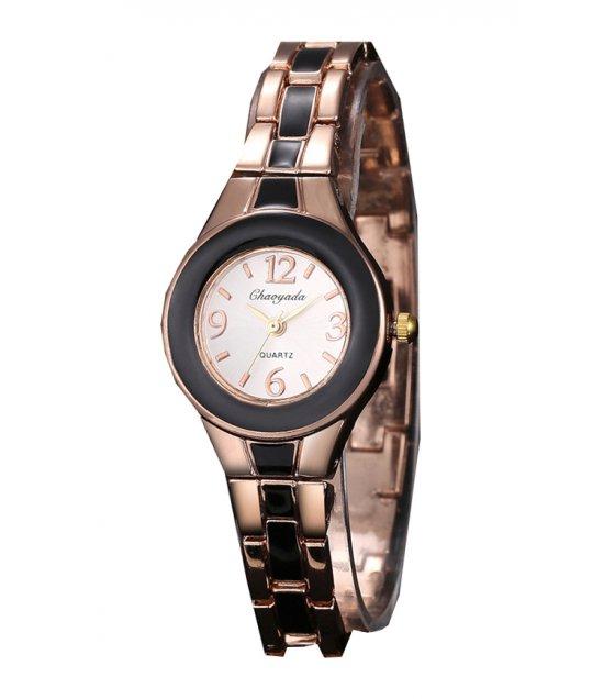 W1894 - Rose Gold Black Dial women's Watch