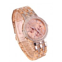 W211 - Rose Gold Diamond Watch