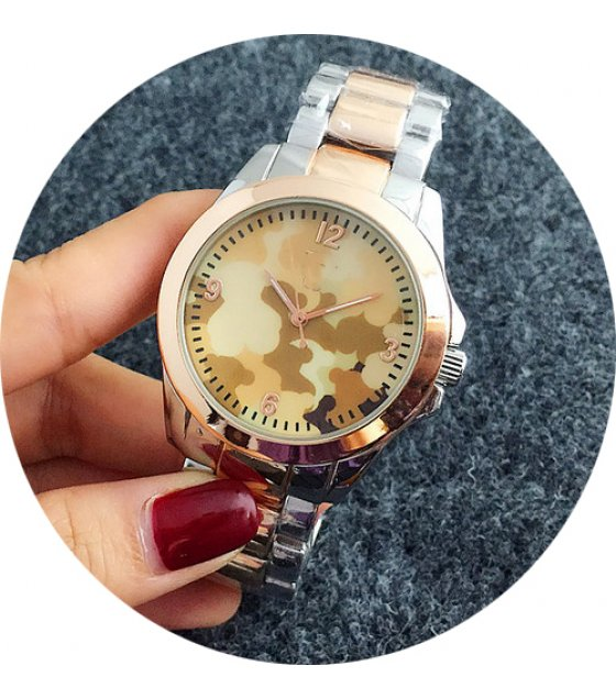 W2160 - Two Toned Stylish Women's Watch