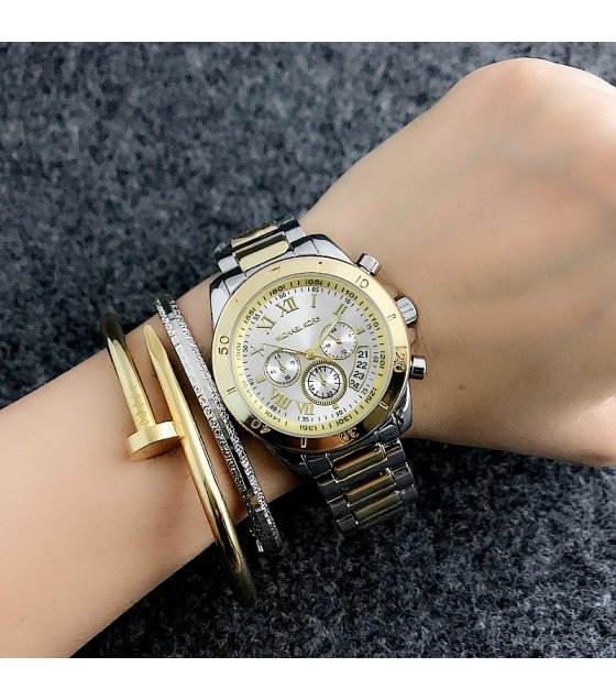 W2181 Gold Silver Mixed Mk Watch
