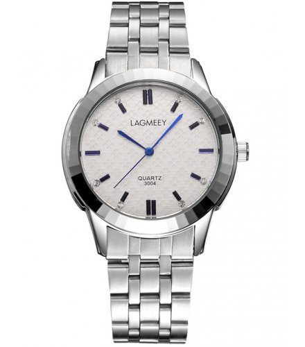 W2185 - White Dial Lagmeey Watch