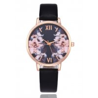 W2203 - Printed female simple Roman numerals fine watch