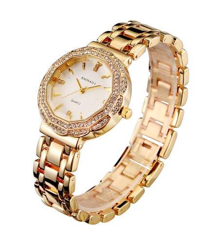 W2230 - Twelve-sided flower alloy watch