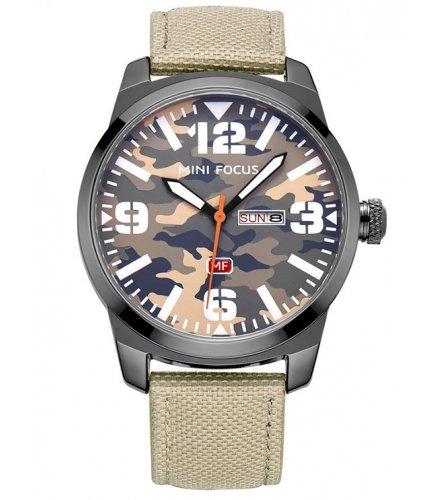 W2237 - MINI FOCUS Fox men's watch quartz watch