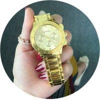 W2281 - Diamond-studded scale female watch