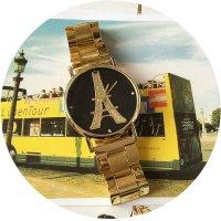 W2282 - Geneva alloy steel Eiffel Tower Watch