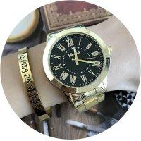 W2287 - Geneva color dial steel watch