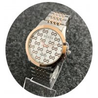 W2341 - Rose Gold & Silver Mixed Gucci Watch