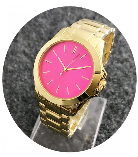 W2368 - Pink Dial Watch