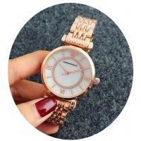 W2409 - Armani Rose Gold Watch