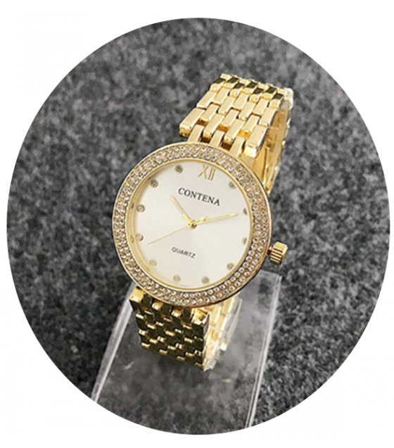 W2422 - Gold Contena Watch