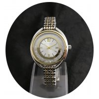 W2450 - Two Toned Crystal Watch