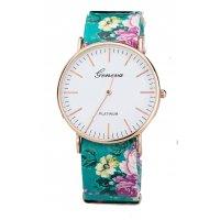W2473 - Retro style garden flowers quartz watch