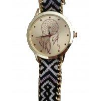 W2531 - Woven rope bracelet watch