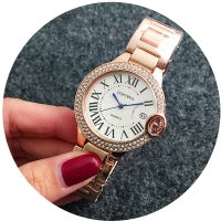 W2608 - Rose Gold Contena Watch