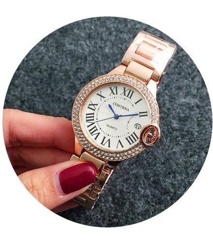 W2608 - Rose Gold Contena Watch