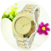 W2609 - Silver & Gold Mixed Tous Watch